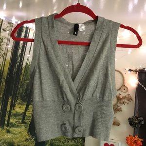 NWOT H&M vest sweater